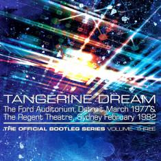 Tangerine Dream The Official Bootleg Series Vol Three Box (4cd)