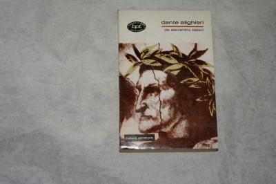 Dante Alighieri - Alexandru Balaci - 1969 foto