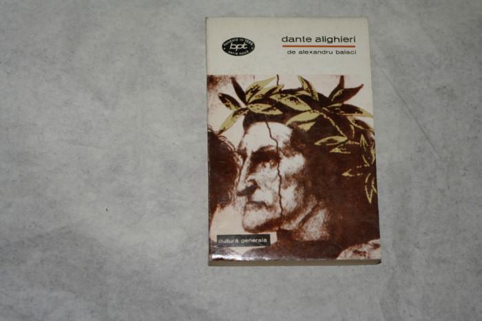 Dante Alighieri - Alexandru Balaci - 1969