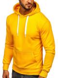 Hanorac bărbați galben-neon Bolf 1004
