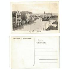 Targu Mures 1930(aprox.) - Piata Albina, ilustrata necirculata