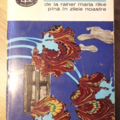 POEZIA AUSTRIACA MODERNA DE LA RAINER MARIA RILKE PANA IN ZILELE NOASTRE - COLEC