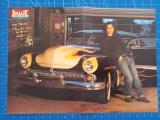 Poster dublu Johnny Depp / Take That - semnaturi - anii 90 revista Salut Franta