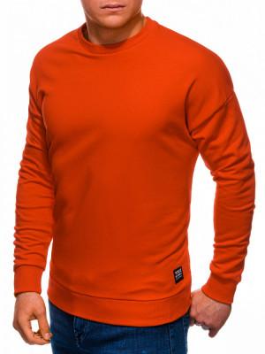 Bluza barbati B1229 - portocaliu-inchis foto