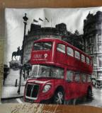 Husa perna decorativa cu fermoar - LONDRA