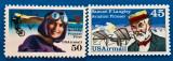 USA-Aviatie-Piloti celebrii -2val-MNH