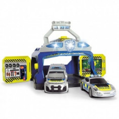 Pista de masini Play Dickie Toys Command Unit cu 2 masini