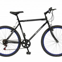 Bicicleta MTB HT 26 FIVE Fast cadru otel culoare negru albastru