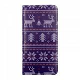 Cumpara ieftin Husa Craciun Flip Carte Xiaomi Mi 9T Pro model Christmas Knit, Portofel cu Stand, Antisoc, Viceversa