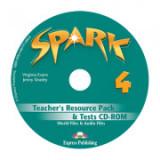 Curs limba engleza Spark 4 Monstertrackers Material aditional pentru profesor si teste CD - Virginia Evans, Jenny Dooley