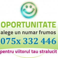 Numar Orange VIP - 075x.332.446 - aur frumos usor gold special numere cartela