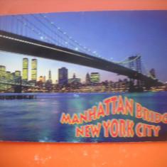 HOPCT 64128 PODUL MANHATTAN -NEW YORK   -SUA - STAMPILOGRAFIE-CIRCULATA