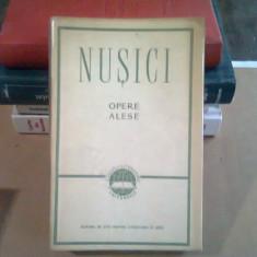 NUSICI - OPERE ALESE