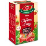 Ceai de Capsuni si Fragi 75g