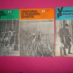 REVISTA VÂNĂTORUL ȘI PESCARUL ANUL 1983 3 reviste
