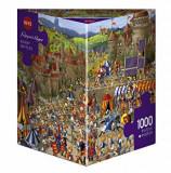 Puzzle Heye Bunny Battles, 1000 piese