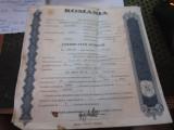 certificat de actionar la prestarea bucuresti c acte