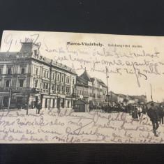 Targu Mures 1914, Circulata, Fotografie
