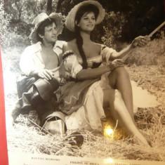 Fotografie din Film -Cartouche cu J.P.Belmondo si Claudia Cardinale 23,5x25cm