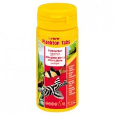 Sera Plankton Tabs 130tbl, 35gr, 50ml, 500, Hrana pesti tablete
