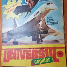 Revista universul copiilor nr. 41-42/ noiembrie 1990 - numar dublu