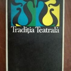 Traditia teatrala- Jean Vilar