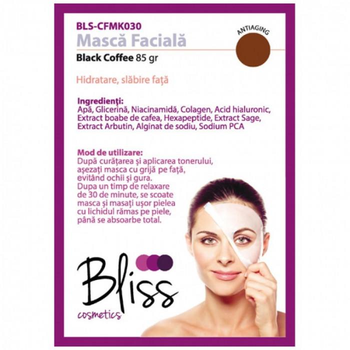 Mască facială cu cafea neagră(BLS-CFMK030)