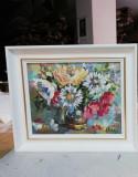 """""""Flori de câmp în vază"""", 25x35 cm"""