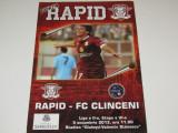 Program meci fotbal RAPID BUCURESTI - FC CLINCENI (05.10.2013)