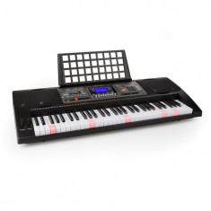 SCHUBERT Etude Tastatură de învățare 450 USB 61 taste, USB MIDI player, taste iluminate, afișaj LCD, negru