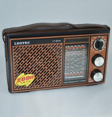 Radio portabil Leotec LT-2016 WORLD RECEIVER foto