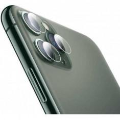 Set Folie protectie sticla securizata camera spate Apple iPhone 11 Pro