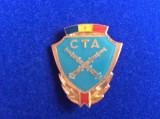 INSIGNA - CTA -ROMANIA - CONCURS TACTIC APLICATIV - ARTILERIE