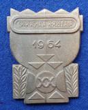 Medalia SPARTACHIADA REPUBLICANA 1964 - medalie competitie sportiva militara