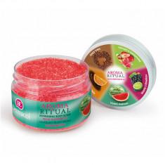 Exfoliant de corp cu aroma de Pepene Rosu Aroma Ritual, 200 g, Dermacol