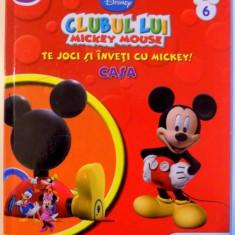 CLUBUL LUI MICKEY MOUSE , TE JOCI SI INVETI CU MICKEY ! CASA , 2013