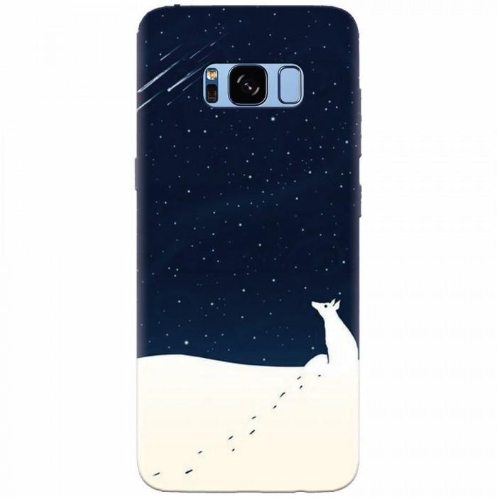 Husa silicon pentru Samsung S8, Winter Night