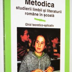 Metodica studierii limbii si literaturii romane in scoala Constantin Parfene