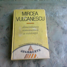 DIMENSIUNEA ROMANEASCA A EXISTENTEI-MIRCEA VULCANESCU