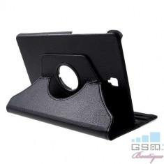 Husa Flip Cu Stand Samsung Galaxy Tab S4 10,5 T830 T835 Rotire 360 De Grade Neagra