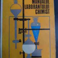 Manualul Laboratorului Chimist - Partenie Silvia, Vlantoiu Gh., Marinescu M., Apost,546092