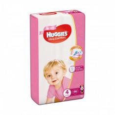 Scutece Huggies Mega Comfort Girls, Nr 4, 8 - 14 Kg, 66 buc