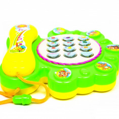 Telefon de jucarie cu sunete pentru copii - educational - 5508