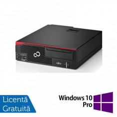 Calculator Fujitsu Esprimo D756 SFF, Intel Core i5-6400 2.70GHz, 8GB DDR4, 500GB SATA, DVD-RW + Windows 10 Pro