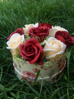Aranjamente flori cu sapun! foto