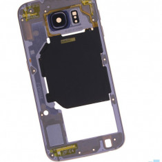 Mijloc Samsung Galaxy S6 SM G920 Albastru