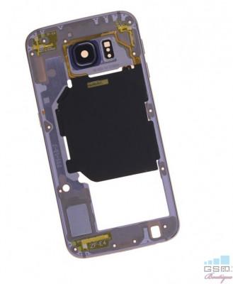 Mijloc Samsung Galaxy S6 SM G920 Albastru foto