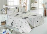 Set cuvertura pentru pat single Eponj Home, 143EPJ9346, bumbac 65 procente, poliester 35 procente, 180 x 240 cm