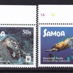 Samoa  2016   fauna  marina  MI  1348-1351     MNH  w59