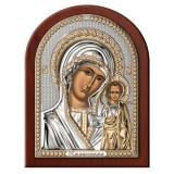 Icoana argint Maica Domnului de la Kazan 17.5×22.5 cm COD: 3558